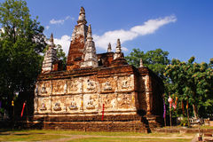 gammalt tempel Royaltyfria Foton