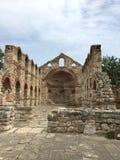 gammalt tempel Arkivbild
