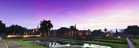 gammalt tempel thailand Royaltyfri Bild
