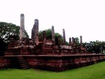gammalt tempel thailand Royaltyfria Bilder