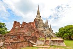gammalt tempel thailand Royaltyfri Fotografi