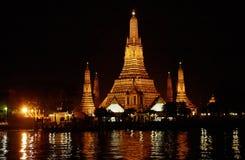 gammalt tempel thailand för buddhism Royaltyfria Bilder