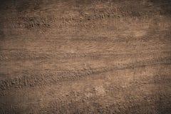 Gammalt texturerad träbakgrund för grunge mörker Fotografering för Bildbyråer