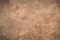 Gammalt texturerad träbakgrund för grunge mörker Yttersidan av nollan arkivbilder
