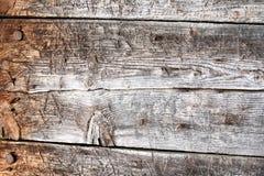Gammalt texturerat trä Arkivbild