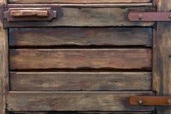 gammalt texturträ för dörr Royaltyfri Fotografi