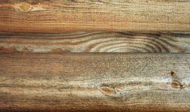 gammalt texturträ gammala paneler för bakgrund Royaltyfria Bilder