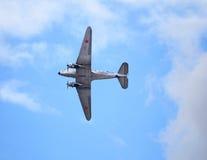 Gammalt tidamerikanflygplan Royaltyfri Bild