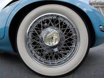 gammalt tidmätarehjul Royaltyfri Foto