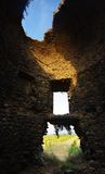 gammalt torn corsica för genoese ö Fotografering för Bildbyråer
