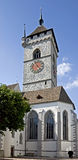 gammalt torn för 2 klocka Royaltyfri Fotografi