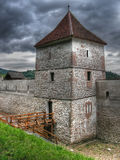 gammalt torn för brasovfästning Arkivbilder
