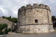 gammalt torn för cirkel Arkivfoto