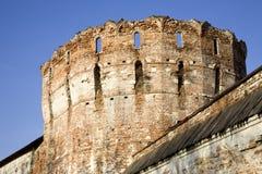 gammalt torn för fästning arkivfoto