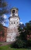 gammalt torn för klocka Royaltyfria Foton