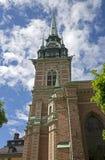 gammalt torn för klocka Royaltyfri Bild