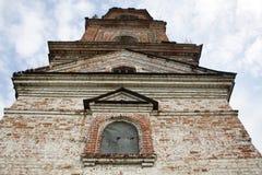 gammalt torn för klocka Arkivbilder