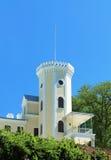 gammalt torn för slott Royaltyfria Foton