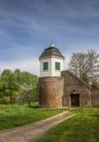 Gammalt torn i mitten av Kalkar Fotografering för Bildbyråer