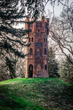 Gammalt torn på kullen Arkivbilder