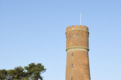gammalt tornvatten Arkivbilder