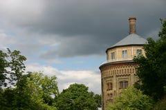 gammalt tornvatten Royaltyfri Foto