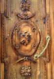 gammalt trä för armenia port Royaltyfri Bild