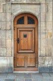 gammalt trä för dörr Royaltyfri Fotografi