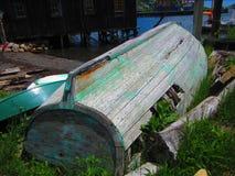 gammalt trä för fartyg Arkivfoto