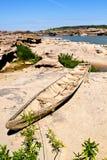 gammalt trä för fartyg Royaltyfria Bilder