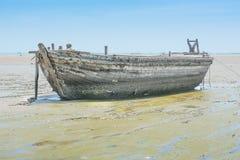 gammalt trä för fartyg Royaltyfria Foton
