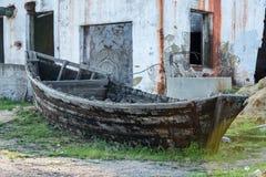 gammalt trä för fartyg Arkivbilder