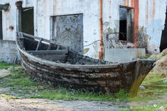 gammalt trä för fartyg Royaltyfri Bild