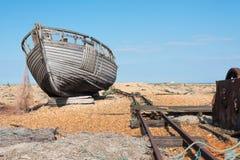 gammalt trä för fartyg Royaltyfri Foto