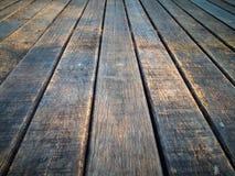 gammalt trä för golv Arkivbilder