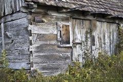 gammalt trä för hus Fotografering för Bildbyråer