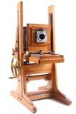 gammalt trä för kamera Arkivbilder