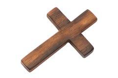 gammalt trä för kors Arkivbild