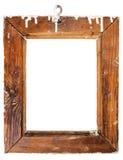 gammalt trä för ram Royaltyfri Fotografi