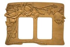 gammalt trä för ram Royaltyfri Bild