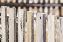 gammalt trä för staket Arkivbilder