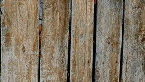 gammalt trä för staket arkivfilmer