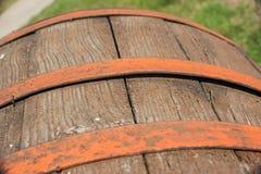 gammalt trä för trumma Royaltyfri Foto