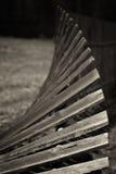 Gammalt, trä- skrangligt staket Royaltyfri Bild