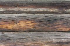 Gammalt trä som bakgrund Royaltyfria Bilder