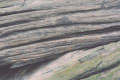 Gammalt trä texturerad closeuptappning Arkivbilder