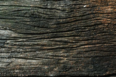Gammalt trä texturerad closeuptappning Arkivfoton