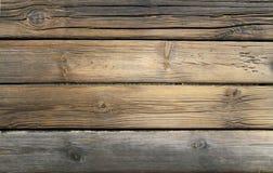 Gammalt trä texturerar Royaltyfri Foto