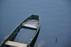 Gammalt träfartyg Royaltyfri Foto