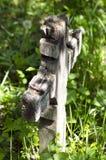 Gammalt träkors Arkivfoton